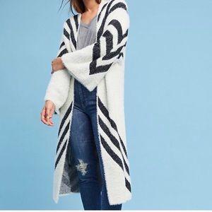Sleeping on Snow- Kimono-style Sweater